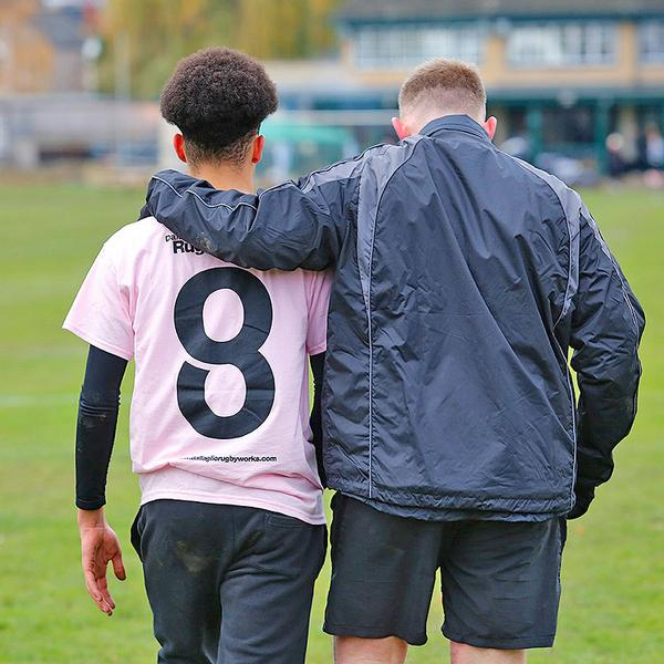 Coaches continue to support participants after they finish school