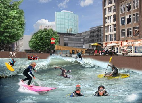 The artificial river has secured €3.6m (US$4.8m, £2.9m) in funding / RiF010