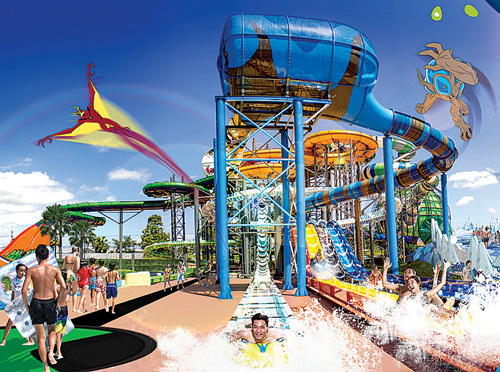 Cartoon Network waterpark opens