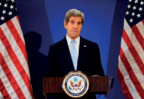 Kerry leads call to protect heritage from IS