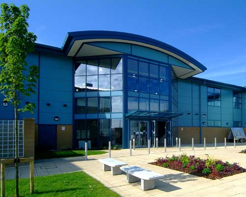 Dimplex air curtains for Staveley leisure centre