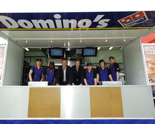 Domino's launches 'store on wheels' for UK events
