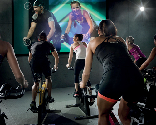 Les Mills is using virtual classes to smash all attendance records at its newest club
