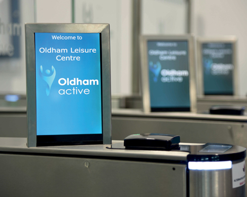 Gladstone installs custom data-collection software at Oldham Community Leisure Centre