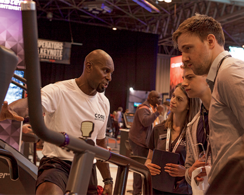 BP: Fitness Trade Show 2017