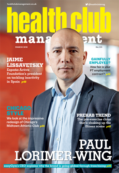 Health Club Management, 2018 issue 3