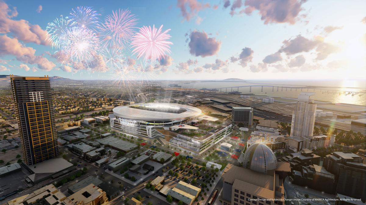 The Stadium Will Be Designed To Host Future Super Bowls And NFL Drafts MANICA Architecture