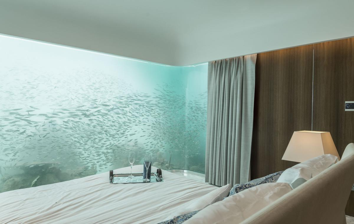 The Floating Seahorse allows you to sleep with the fishes / Kleindienst Group