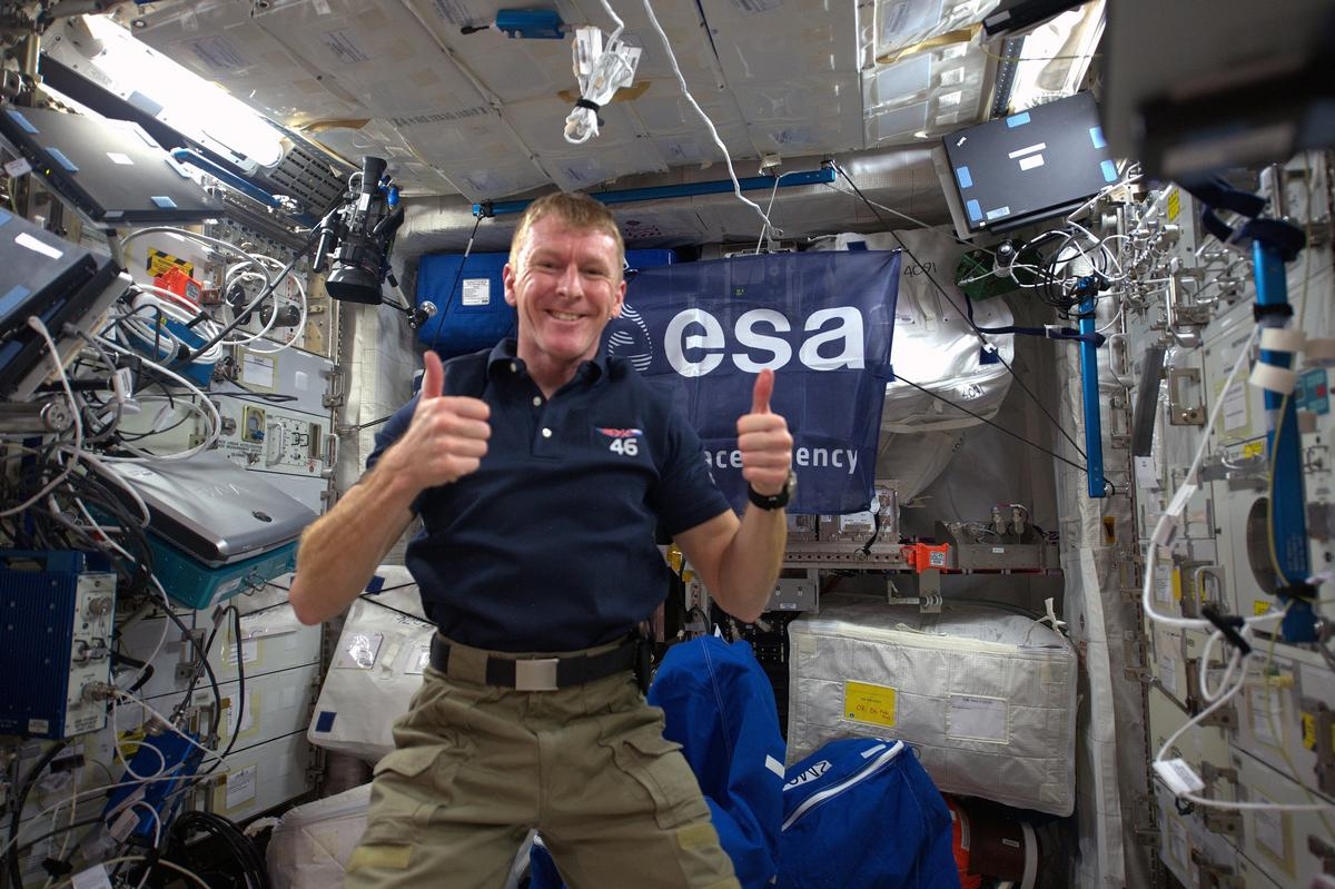 ESA staff including astronaut Tim Peake – currently onboard the International Space Station – place a high premium on physical fitness