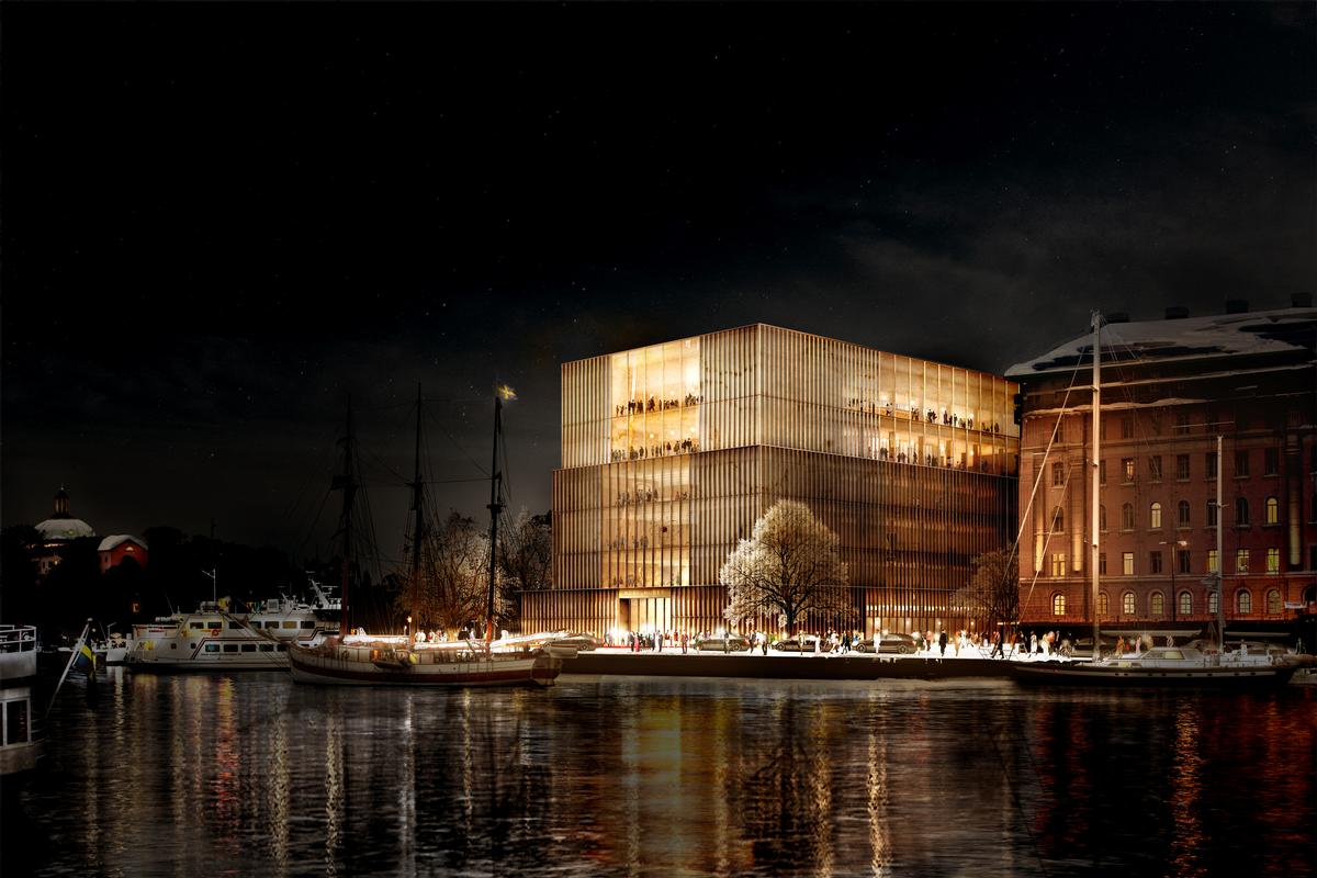 Chipperfield's design won an architecture competition in 2014 / Nobel Center