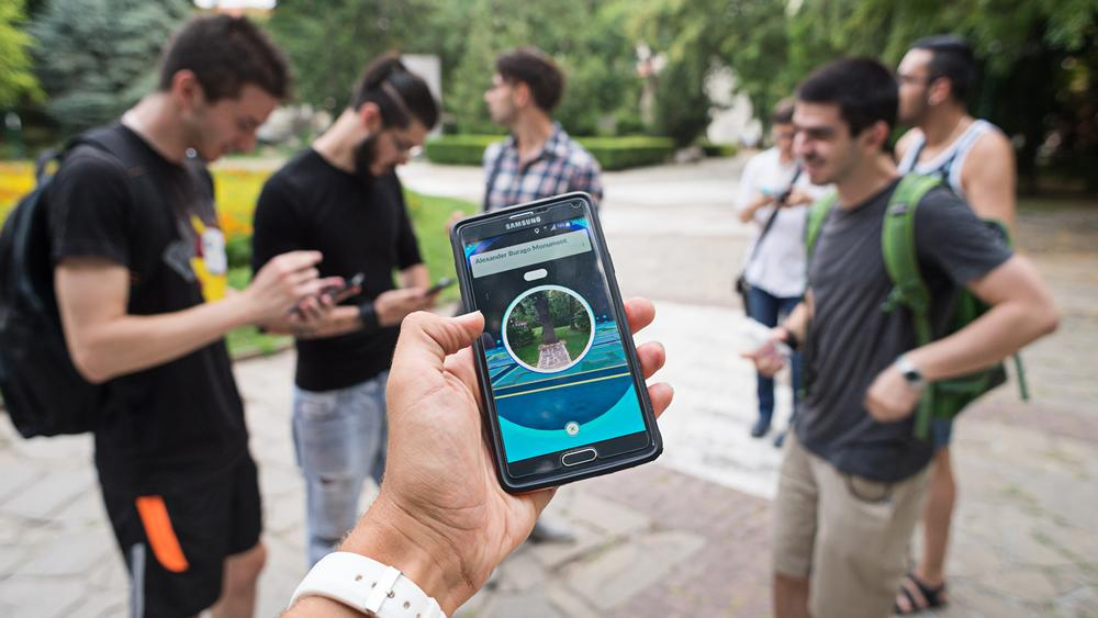 Pokémon Go: People are exercising without realising it / Stoyan Yotov / Shutterstock.com