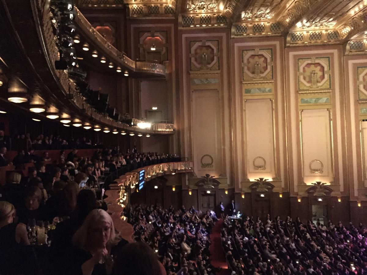 The ceremony took place at Chicago's Lyric Opera theatre on 2 May