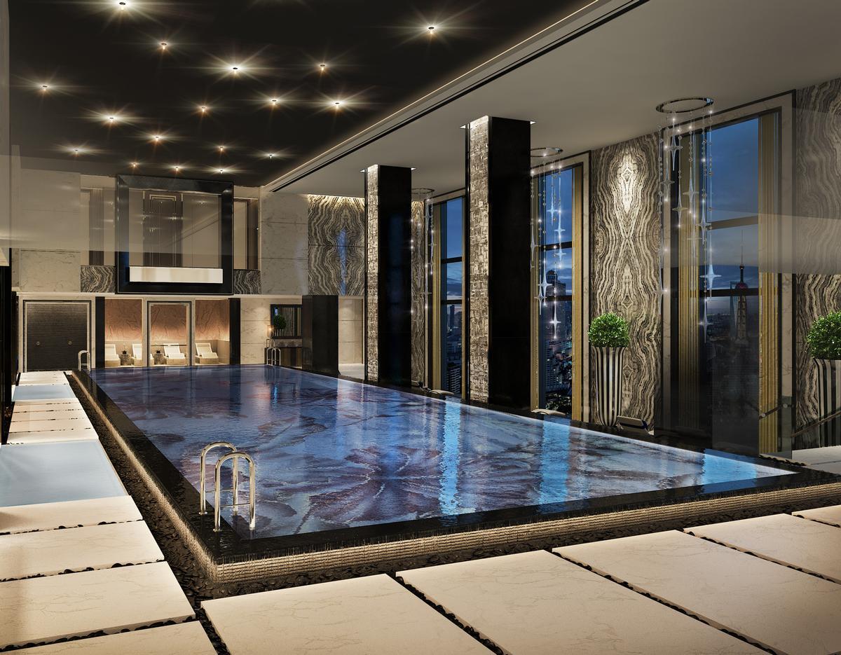 Watg designing zen spa for bellagio shanghai for Zen pool design