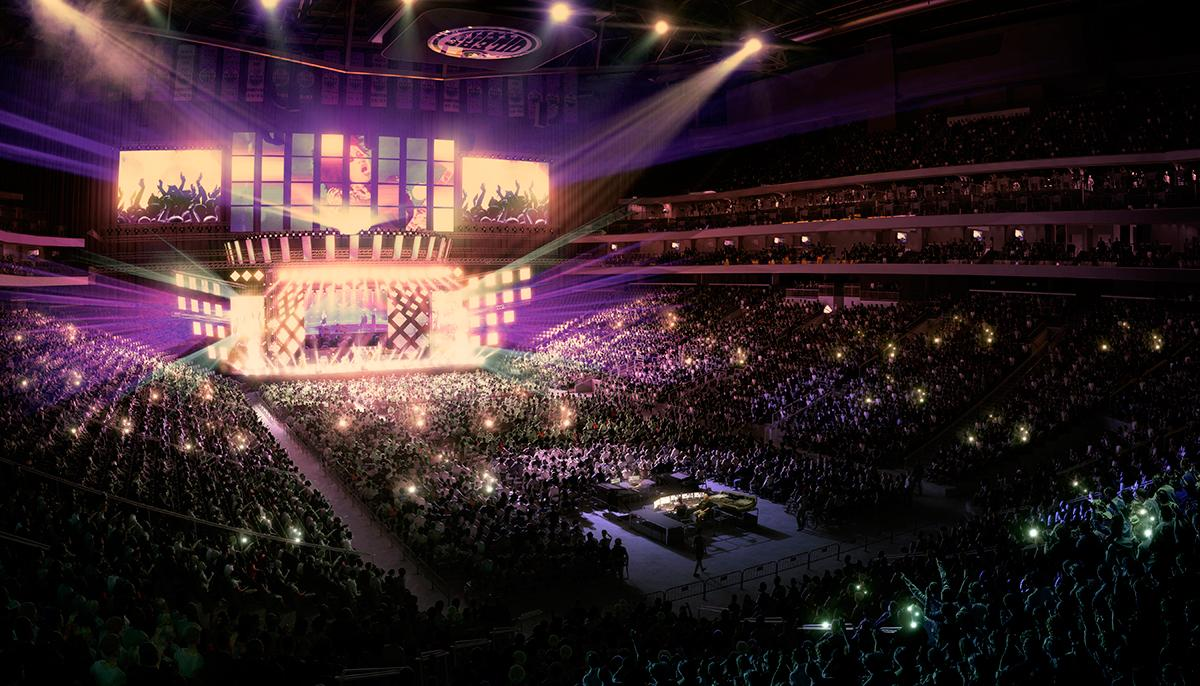 Concerts will also be held at Rogers Place, with Dolly Parton already scheduled to perform there / Rogers Place
