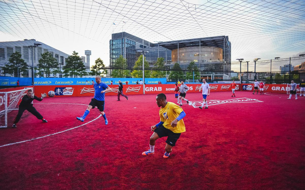 Powerleague opened its facility outside Wembley Stadium in 2011