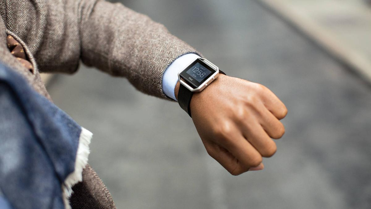 The new smartwatch-inspired Fitbit Blaze was a key driver of growth / Fitbit