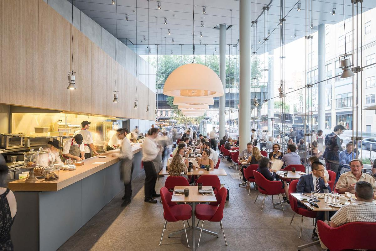 Renzo Piano Building Workshop Were Joint Winners Of A James Beard Restaurant Design Award For Untitled At New Yorks Whitney Museum Tim Schenck