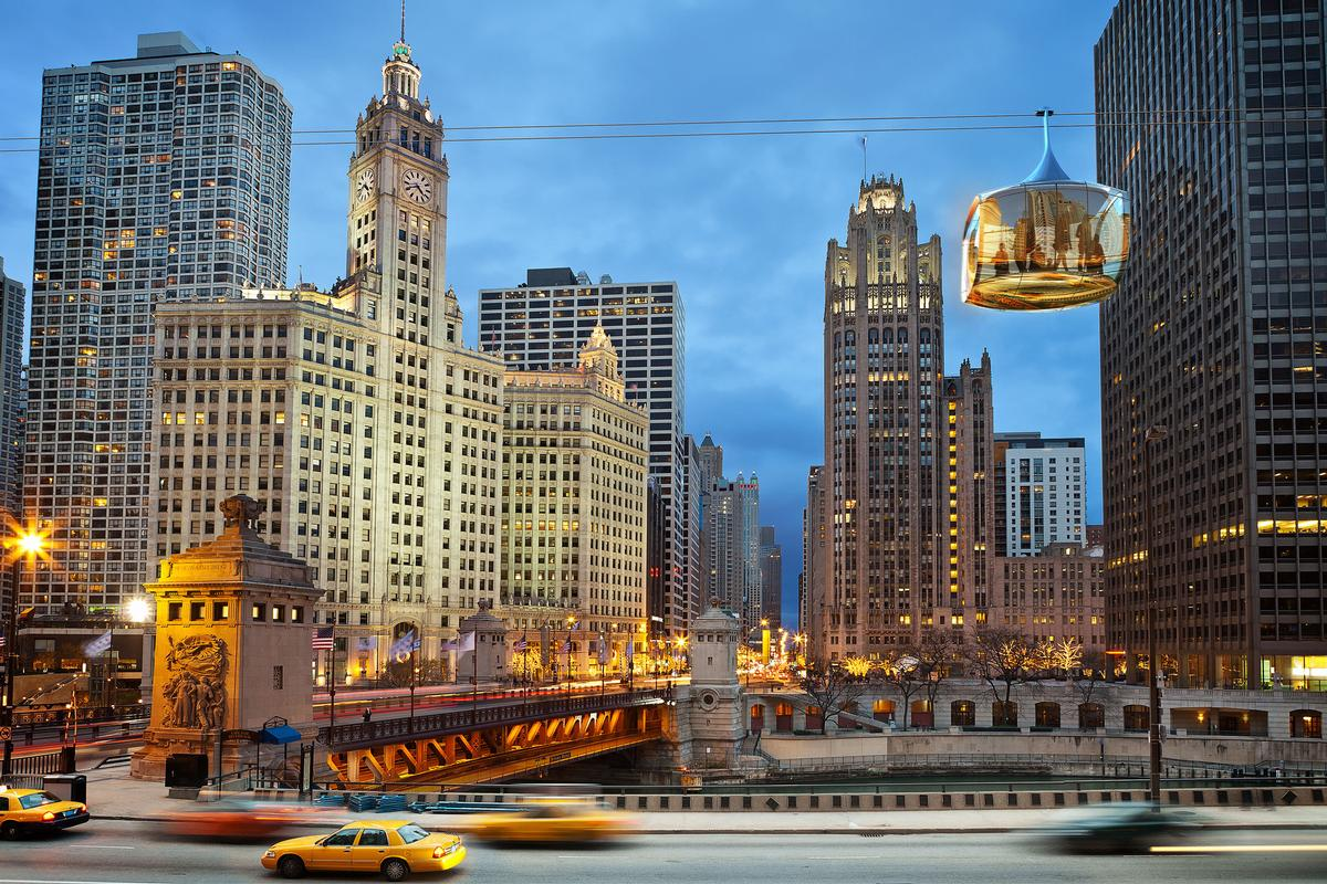 A pair of developers in Chicago unveiled a new cable car and tourist attraction for Chicago / F10 Studios