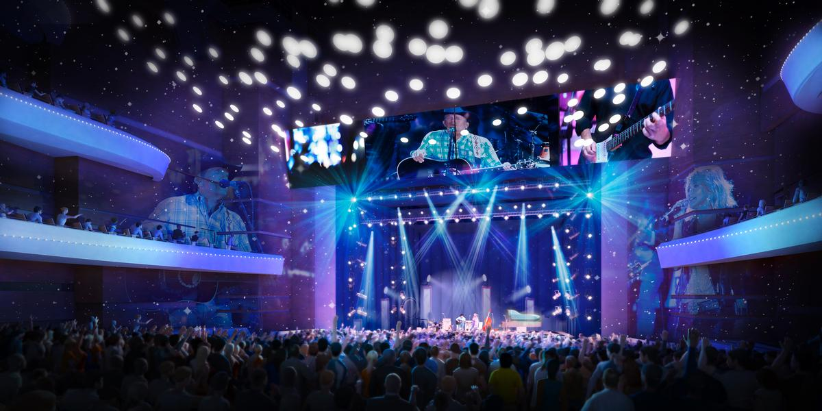 Diamond Schmitt Architects unveiled their design for A Buddy Holly-inspired concert hall in Lubbock, Texas / Diamond Schmitt