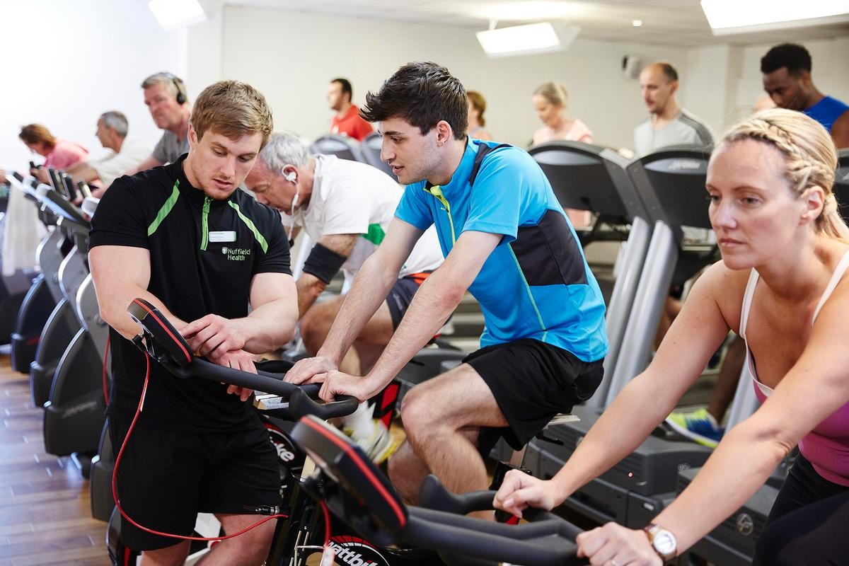 Close to £15m was invested in maintaining and developing Nuffield Health's 77 gyms