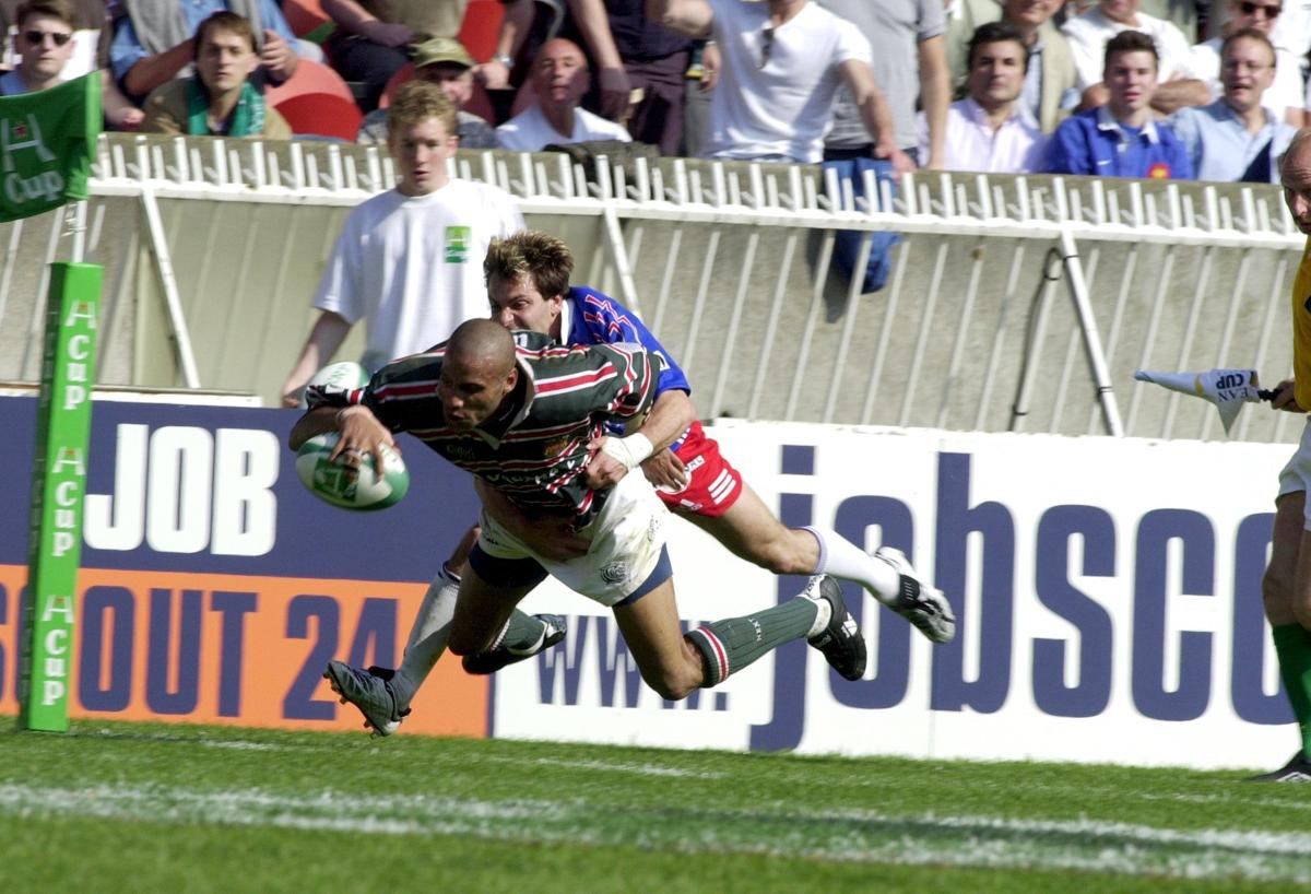 Leon Lloyd played for Leicester Tigers for a decade and won five caps for England