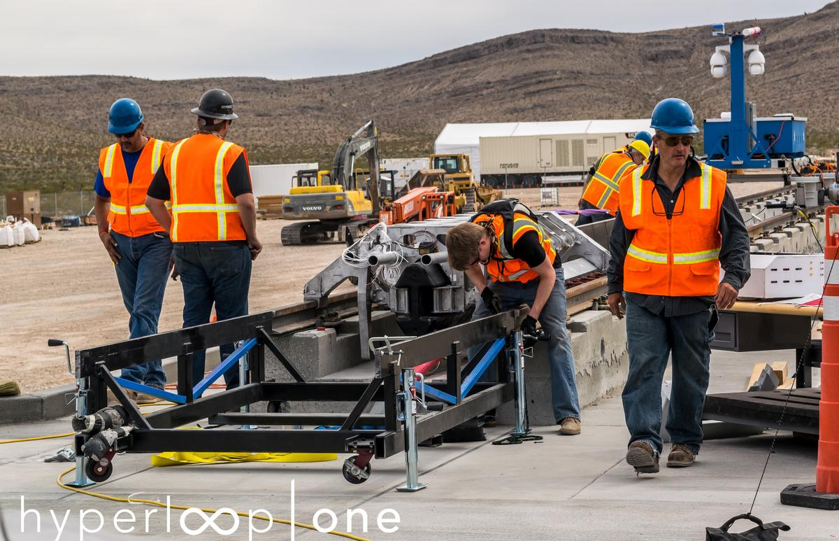 A public demonstration of Hyperloop One's system will be held on May 12 in Nevada / Joshua Caldwell