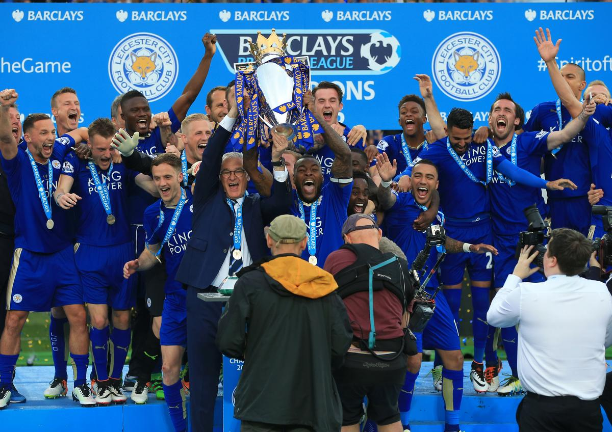 Leicester City expectedly won the Premier League title in May 2016