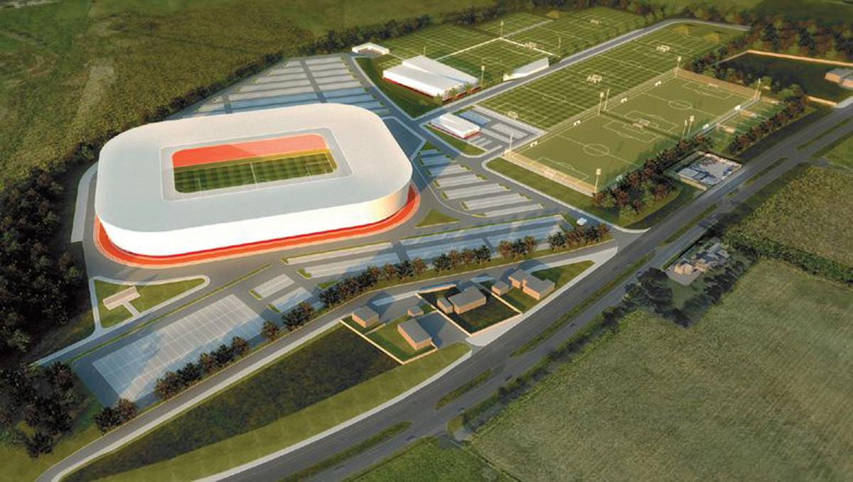 The stadium is expected to be ready in time for the start of the 2019/20 season