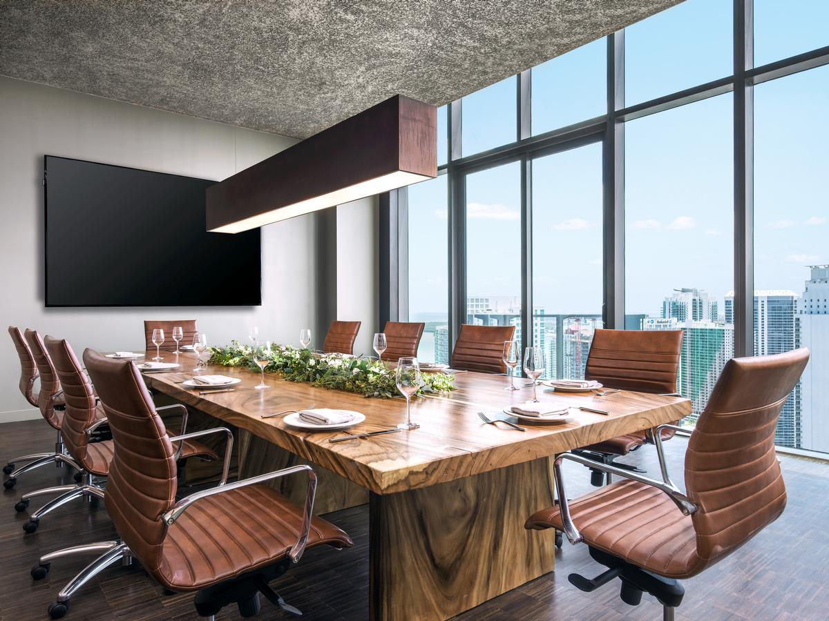 Located in Miami's Brickell district, the hotel is an anchor for a 5.4m sq ft (502,000sq m) mixed-used development being bankrolled by real estate giant Swire Properties. / EAST, Miami