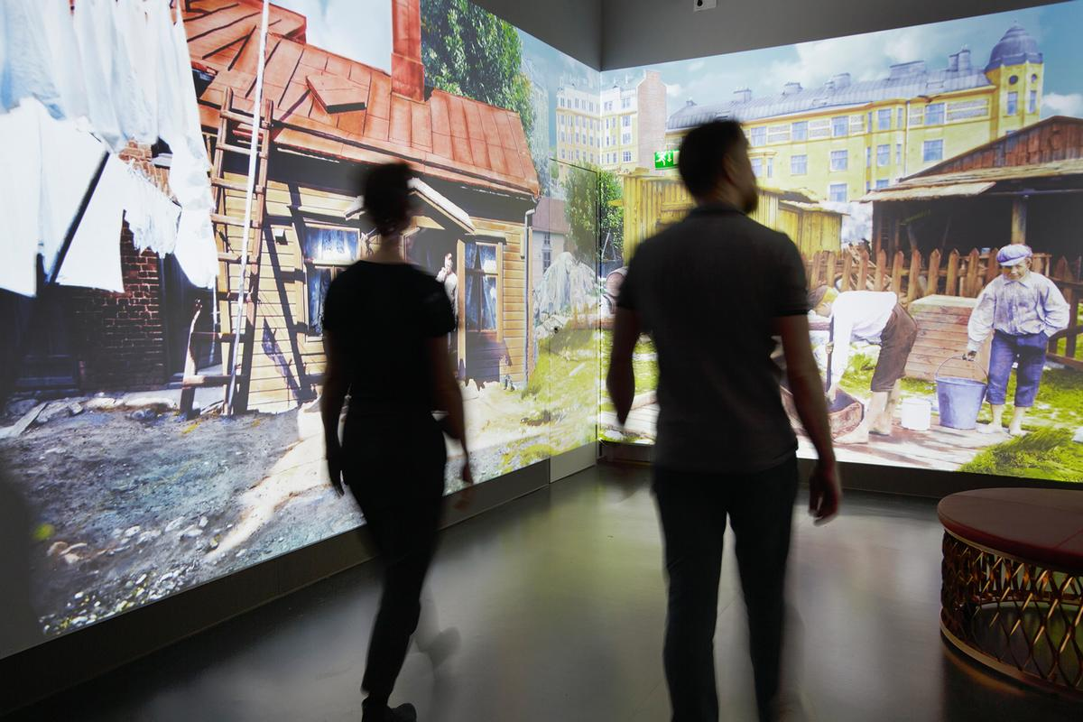 Software company Futurice handled service design and the technological solutions as a partner in <i>Time Machine</i> / Helsinki City Museum