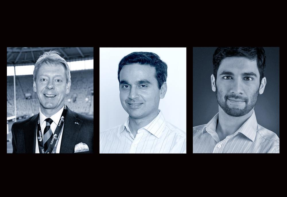 LIW speakers (l-r): Nick Eastwood of Wasps Rugby Club, Google's Raja Saggi and entrepreneur Sol Orwell