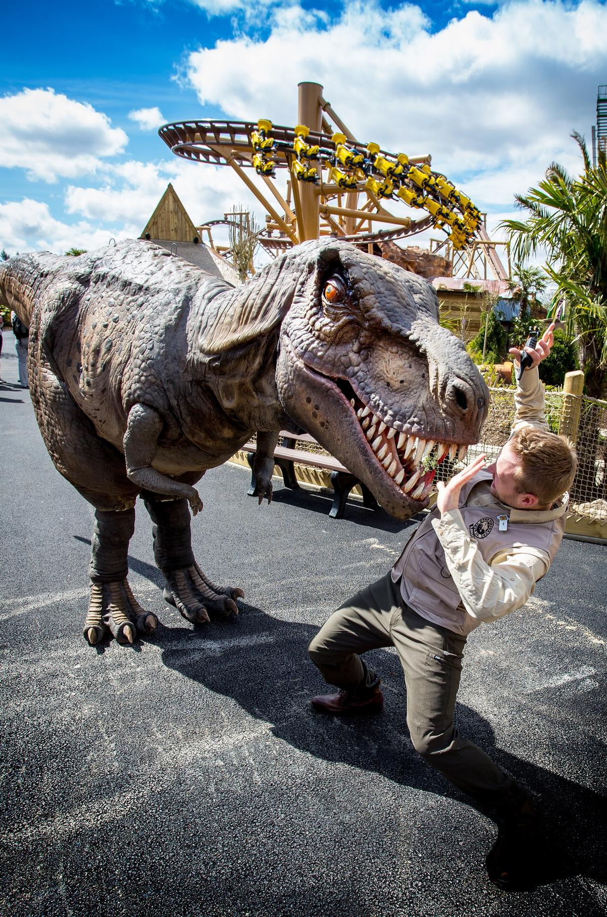 Meet T-Rex at the Alive Dinosaur Encounter