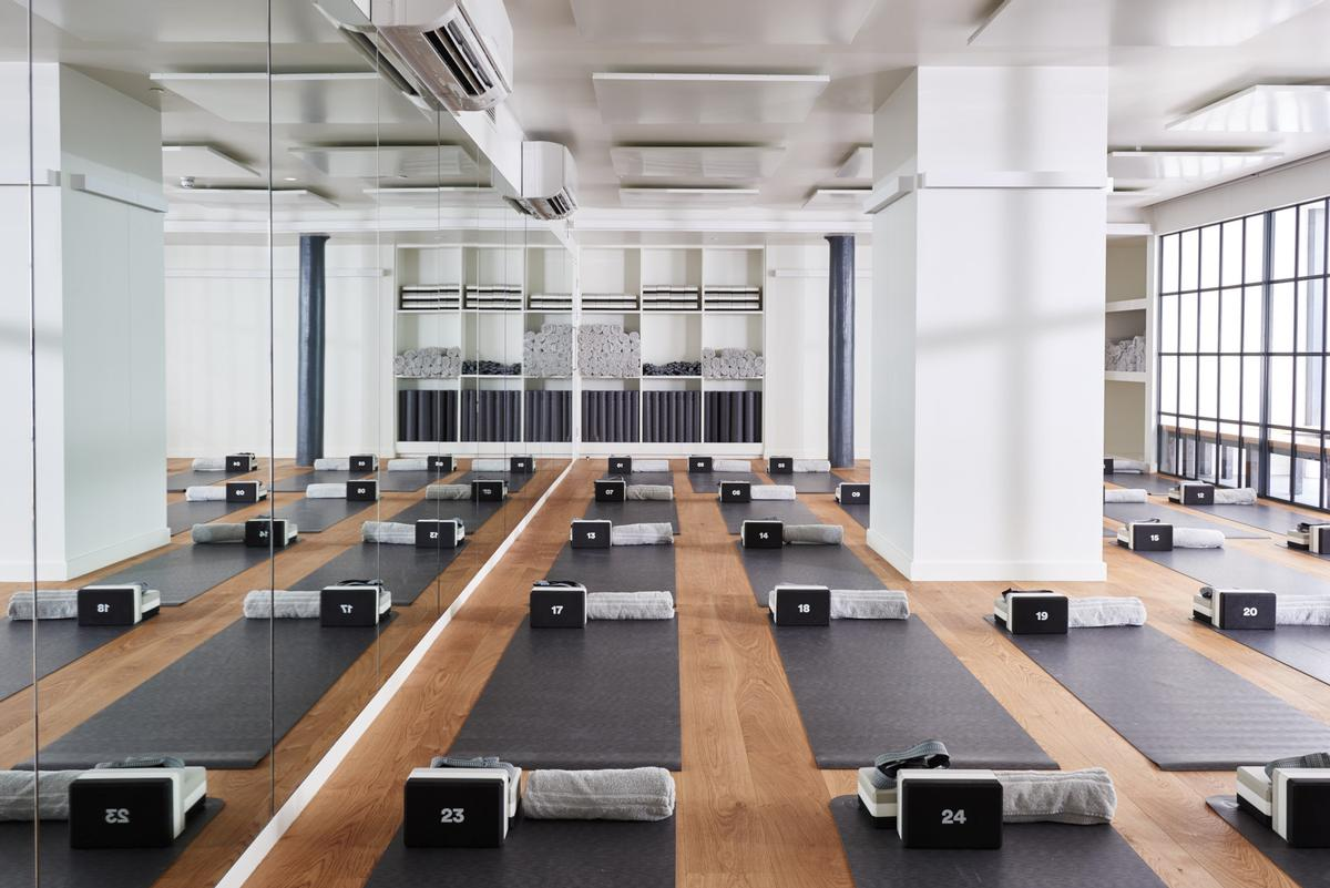 The Goldstein Ween-designed studio offers a range of class-based fitness training programmes / Another_Space