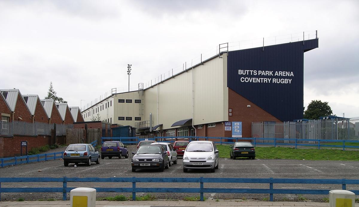 Butts Park has been Coventry Rugby's home since 2004