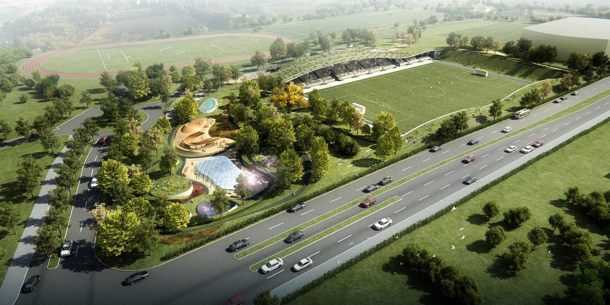 Design by DP Architects / Courtesy of Forest Green Rovers