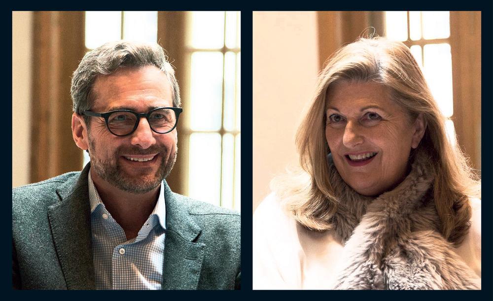 Franz Linser & Susan Harmsworth / photos ©Jack Emmerson www.jhse.co.uk