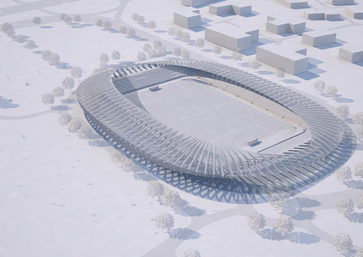 Design by Zaha Hadid Architects / Courtesy of Forest Green Rovers