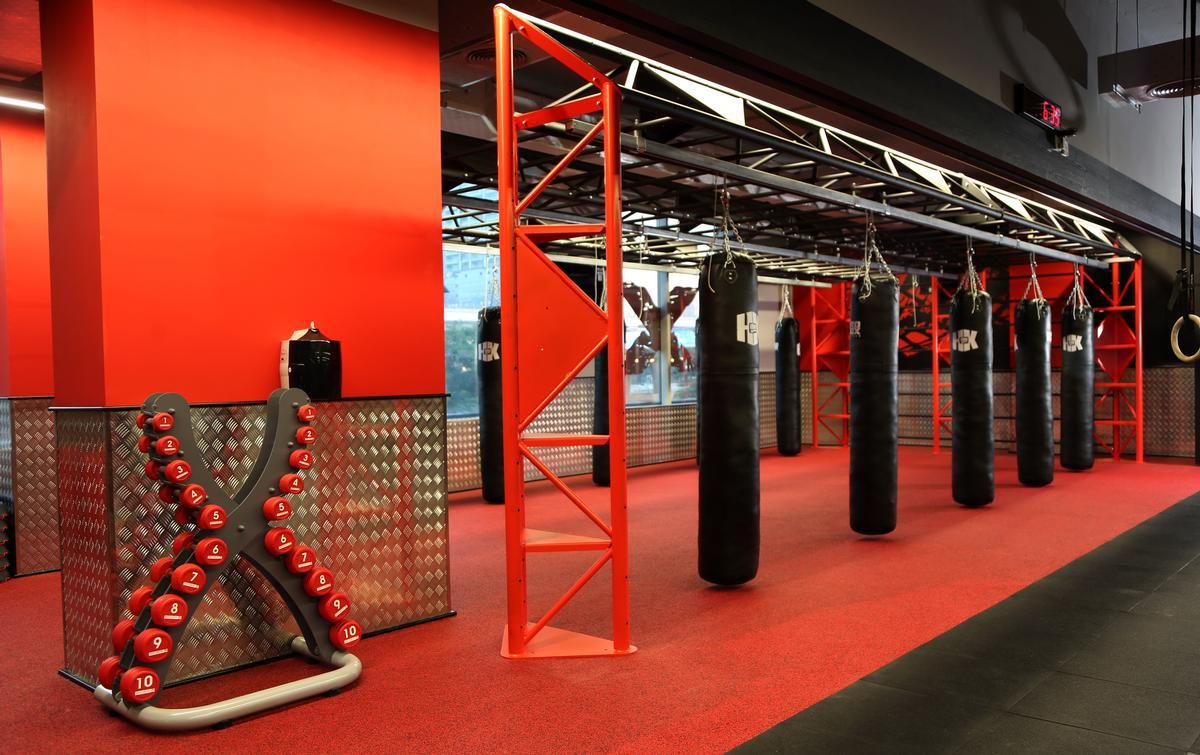 The 800sq m studio in Dubai has a three-in-one concept