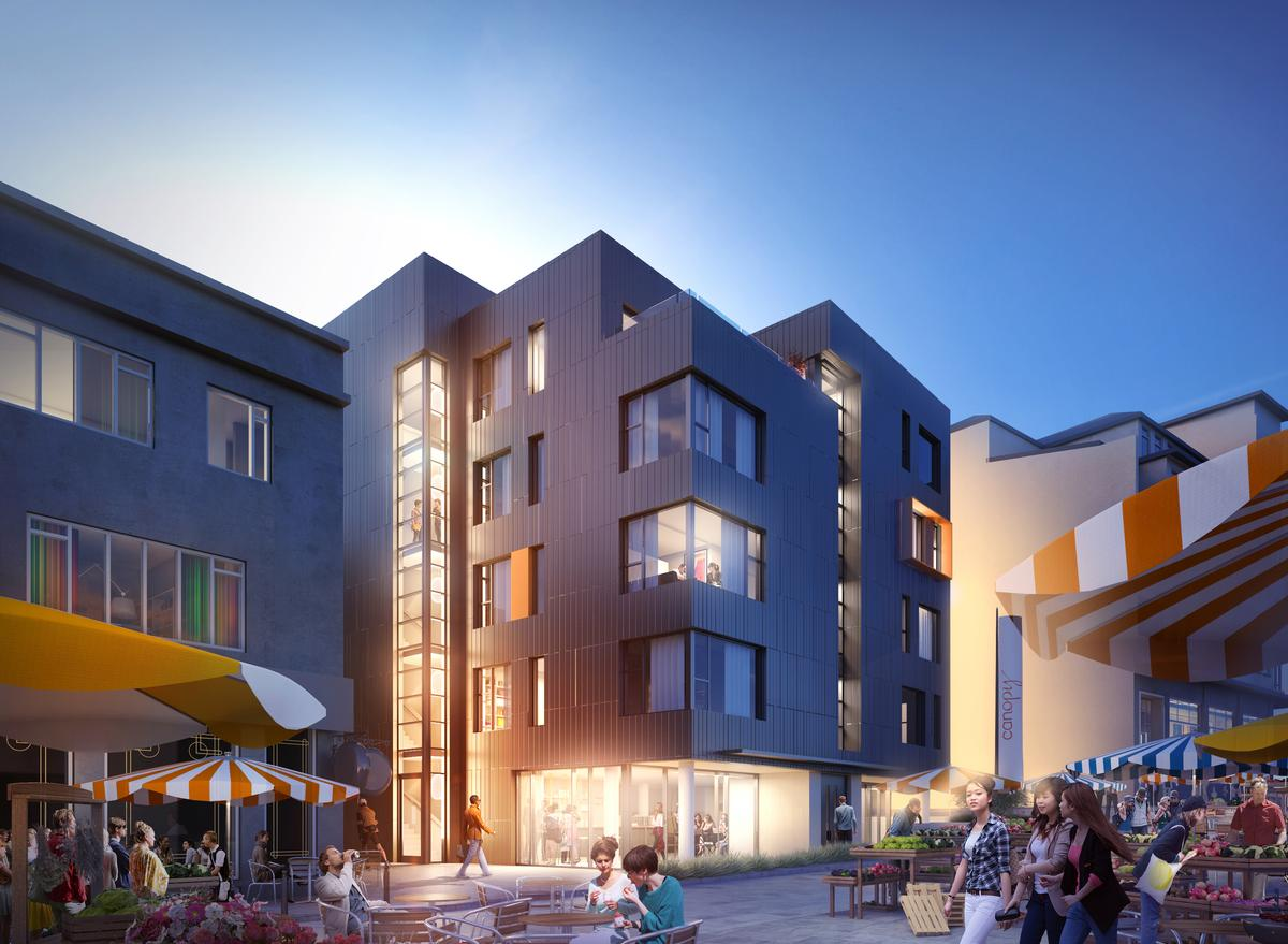 Canopy Reykjavik is scheduled to open in June 2016 on Hverfisgata Street – a hub for art and music / Canopy by Hilton