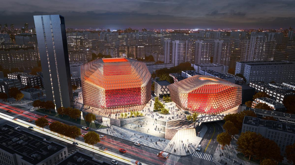 Gmp win architecture competition to design chinese opera for Beijing opera house architect