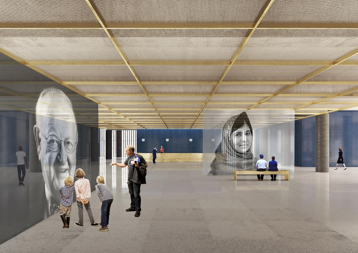 The museum will celebrate inspirational figures from around the world / David Chipperfield Architects