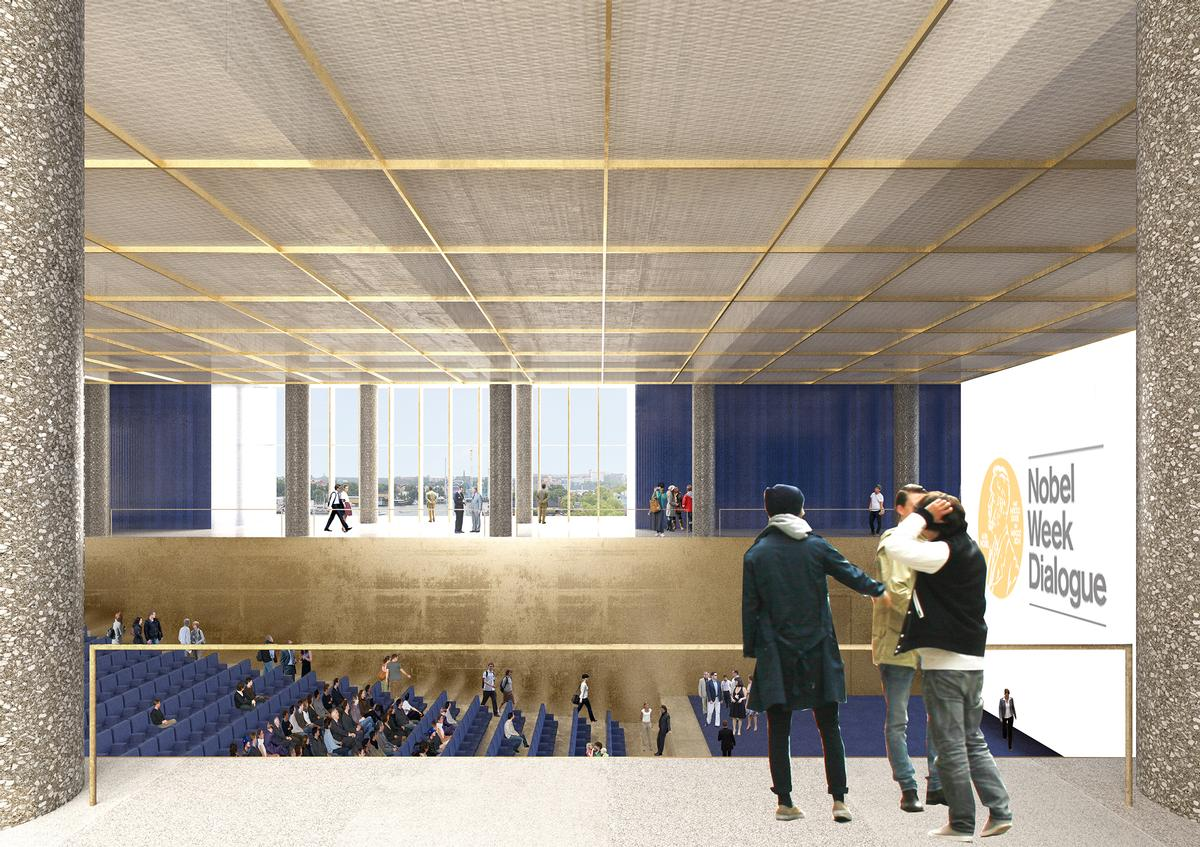 The auditorium has been tweaked to make it more flexible and connected / David Chipperfield Architects