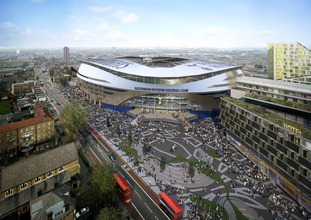 KSS is behind designs for Tottenham's new stadium	 / KSS