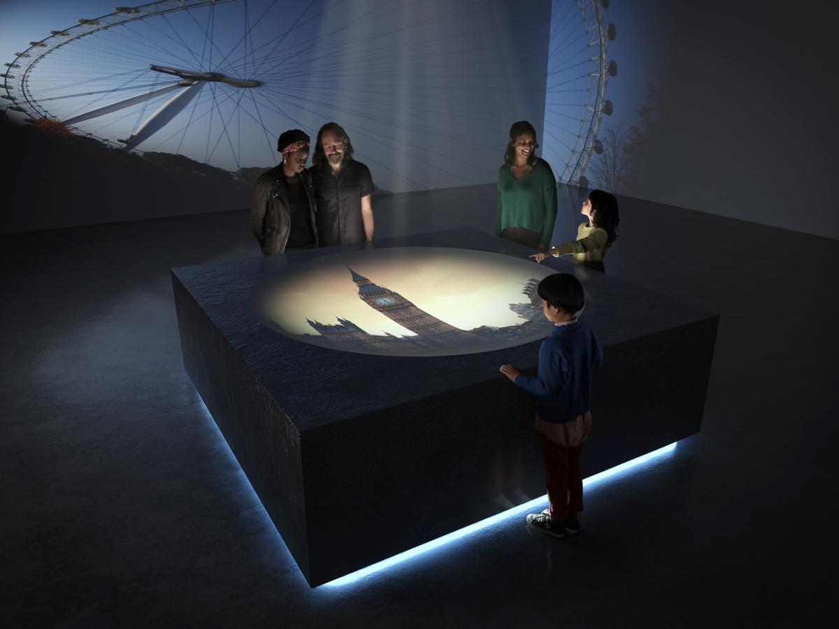 The centre will feature a camera obscura / BFI