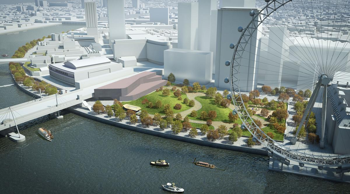 The International Centre for Film, TV and the Moving Image will be located on London's South Bank, near the London Eye / BFI