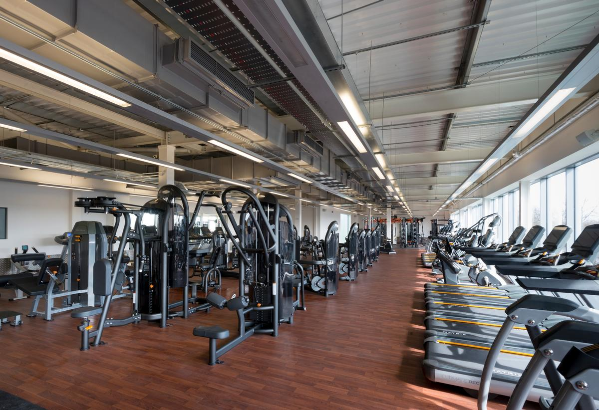 The gym features a selection of IFI-accredited (disability friendly) equipment
