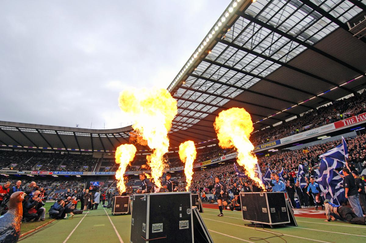 Murrayfield has been the home of Scottish rugby since 1925 / Paolo Bona/Shutterstock.com