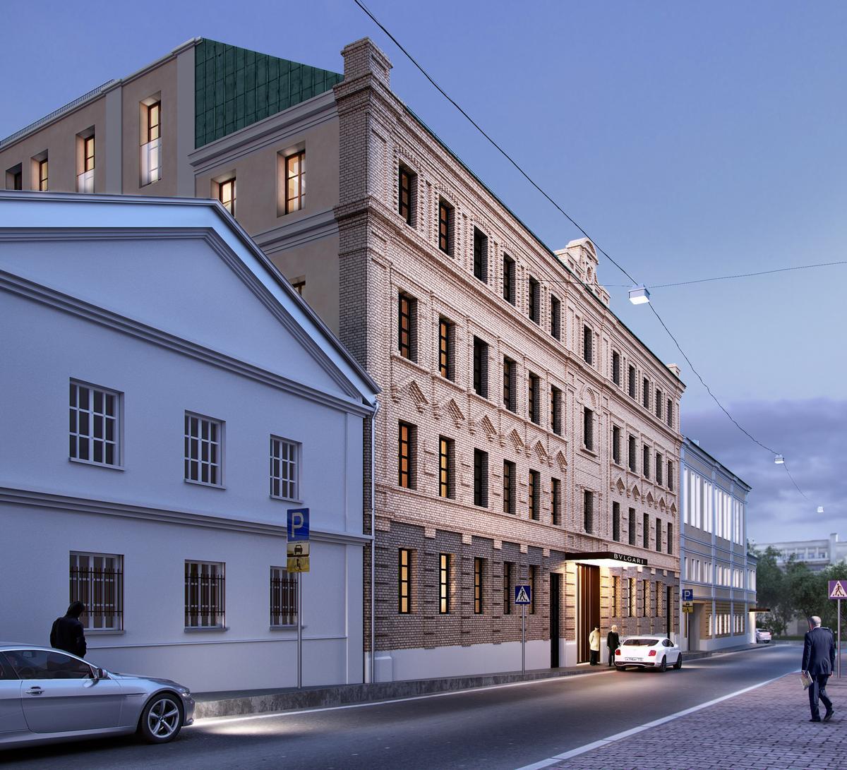 italian architects to design moscow bulgari hotel in historic
