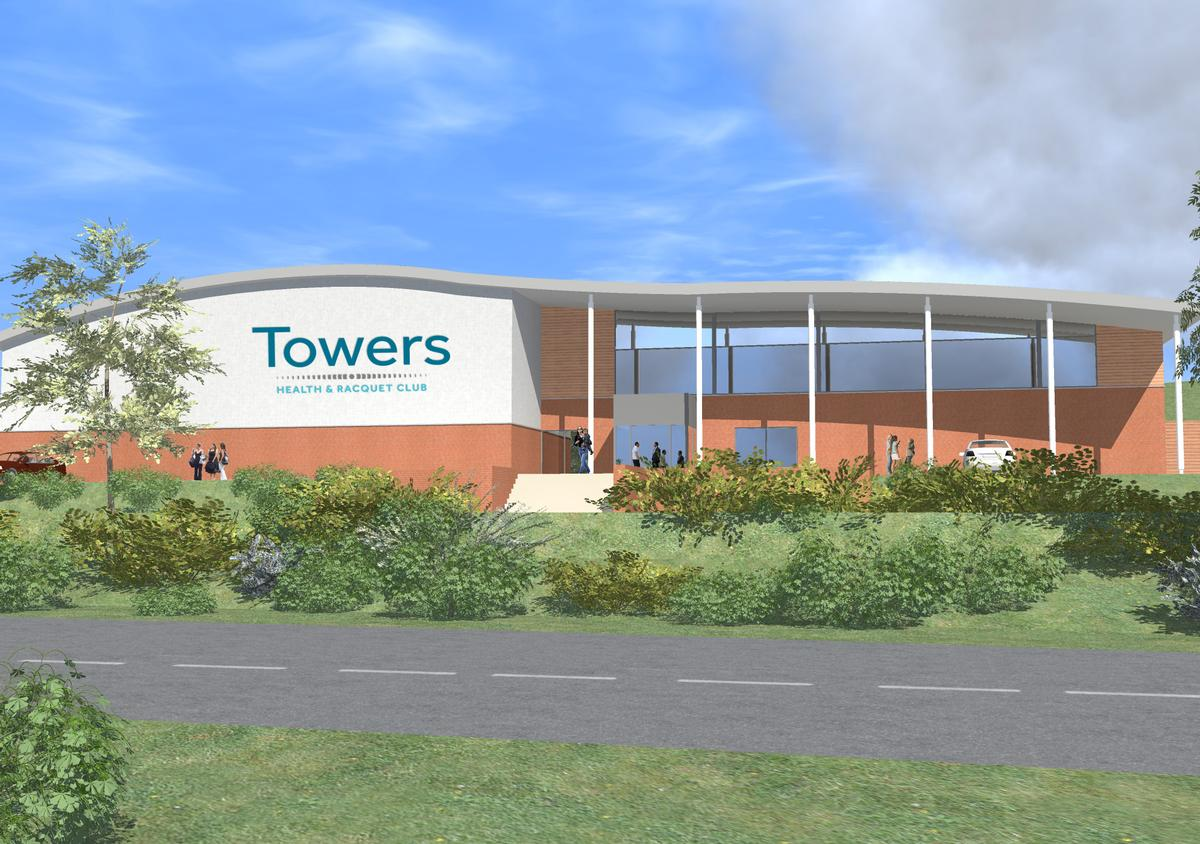 Work is already underway on the health club, which is being designed by Hooper Architects