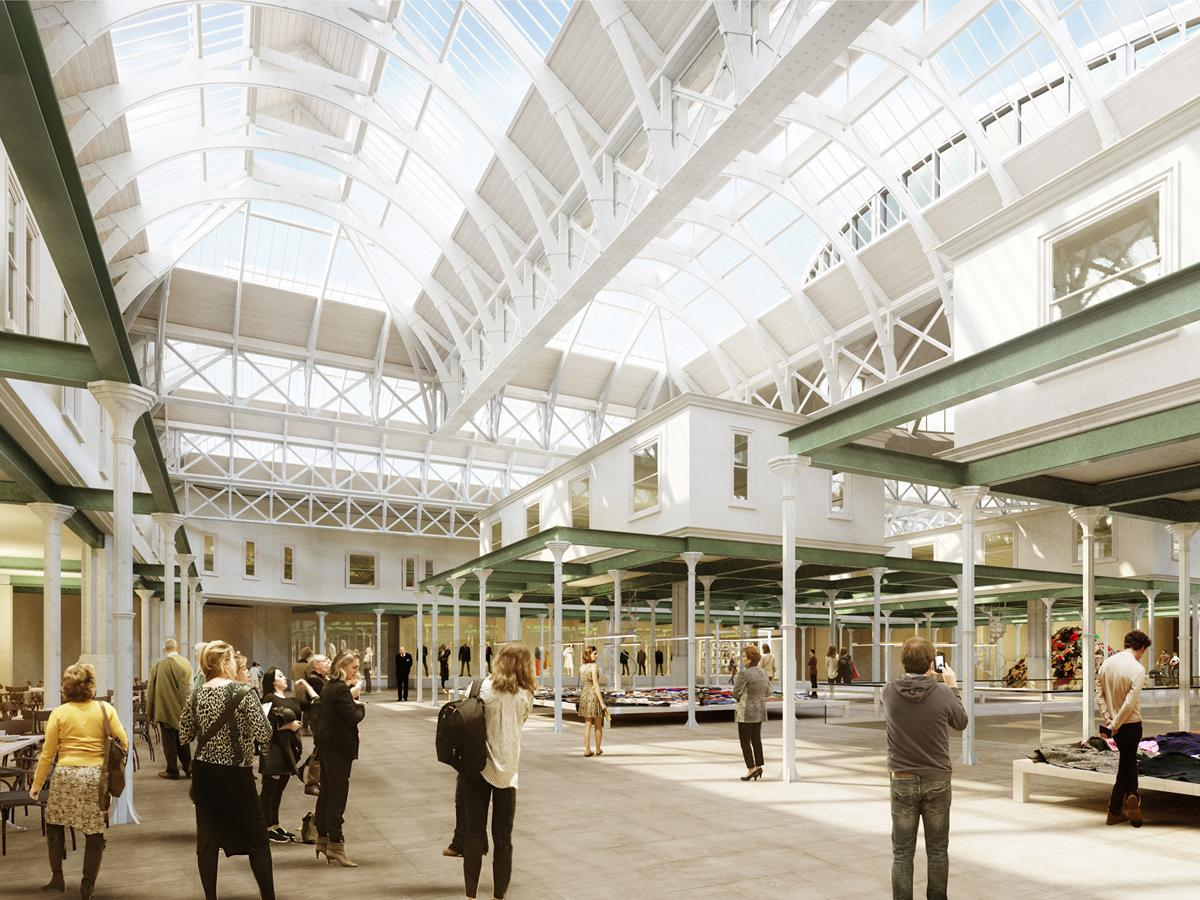 Museum of London concept by Diener & Diener Architekten / Images copyright Malcolm Reading Consultants / Diener & Diener